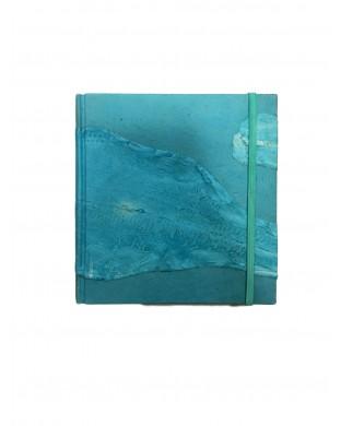 Carnet de voyage turquoise