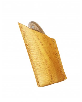 Nouveau ! Pochette à couteau miel