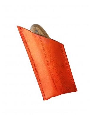 Nouveau ! Pochette à couteau orange vitaminé