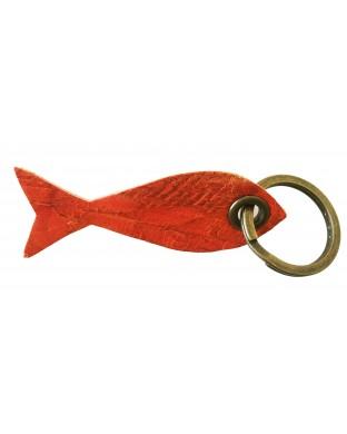 Nouveau ! Porte-clés poisson orange vitaminé