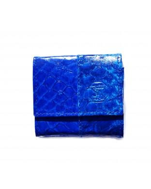 Porte-monnaie crapaud bleu roi