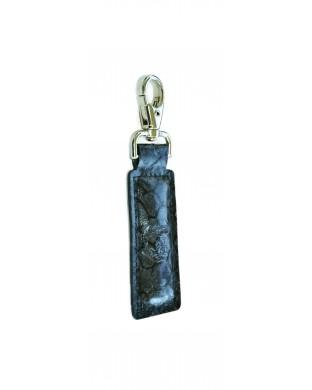 Porte-clés écailles noir