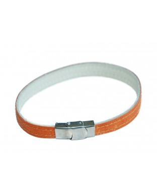 Bracelet simple orange