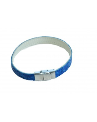 Bracelet simple bleu roi