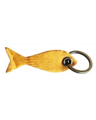 Porte-clés poisson miel