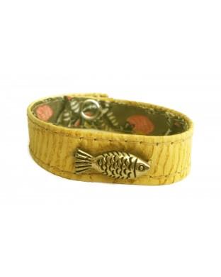 Bracelet Poisson miel