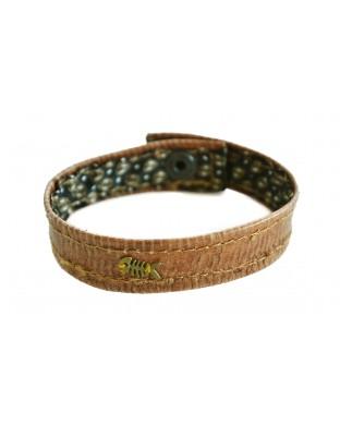 Bracelet Poisson brun