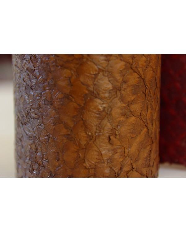 Peau à écailles brune Grande
