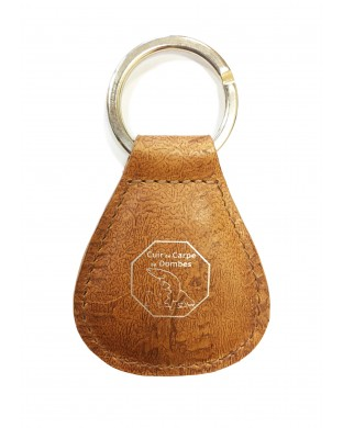 Porte-clés lyonnais caramel